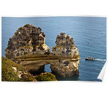 Cliffs at Ponta da Piedade Poster