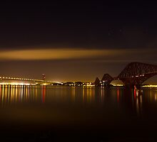Forth Road and Rail Bridge by Paul McKee