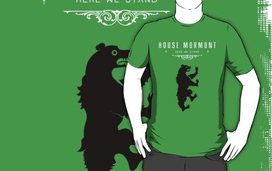 House Mormont Tee by liquidsouldes