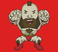 Chibi Zangief by fostorial