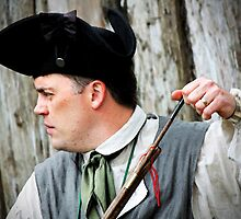 The Colonial Reenactor-91058 by Michael Byerley
