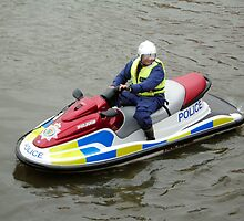 Police water jet ski by Woodie