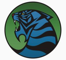 Kou Leifoh Tiger Emblem Blue/Green by Adam Angold