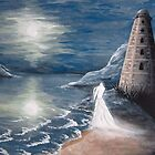 The Ghost of Wicklow Lighthouse by Hannah Aradia