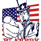 Flanery 2012 - Presidential Tshirt | Stickers by Tracey Gurney