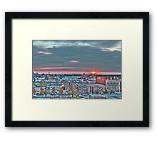 Atomic Horizon Framed Print