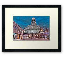 Can't Fight City Hall Framed Print