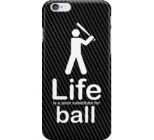 Ball v Life - Carbon Fibre Finish iPhone Case/Skin
