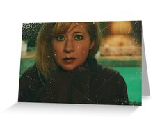 So Cold Without You Greeting Card