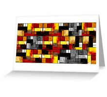Abstract Rectangles #4 Greeting Card