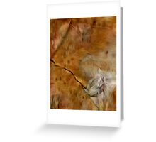 Abstract Colors Oil Painting #59 Greeting Card
