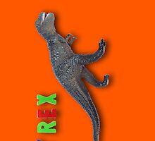 T-Rex iPhone case by suranyami