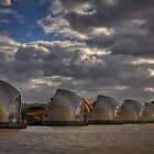 Thames Barrier by Nigel Jones