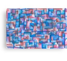 Puzzle - 01-12 Canvas Print