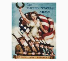 World War II Poster - US Army  by docdoran