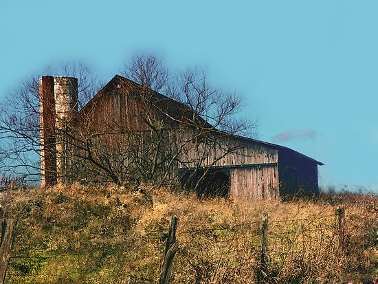 The Tiverton Twp Barn by Jack Hunt
