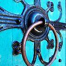 Ornate Door Knocker by Marcia Rubin