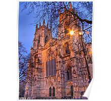 York Minster - Evening Light - HDR Poster