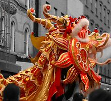 Dragon Dance. Festive Cards and Prints by W. Lotus