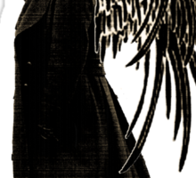 side of angels -eyes Sticker