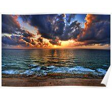 the sunset royal, Tel Aviv Poster