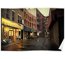 Seduction of the City - Chinatown - New York City Poster