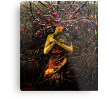 THE EMPRESS (tarot card) Metal Print