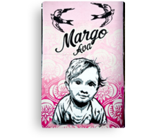 Graffiti Baby Canvas Print