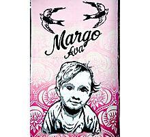 Graffiti Baby Photographic Print