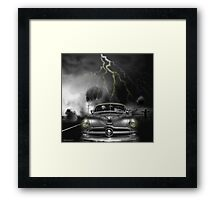THUNDER ROAD Framed Print