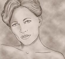 Irene Adler portrait by LauraMSS