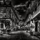 Old Havana in black &amp; white by Erik Brede