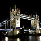 Night View of Tower Bridge  by DavidHornchurch