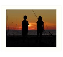 Farewell To The Day ~ Part Nineteen Art Print