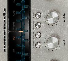 Marantz 2230 with texture iPhone case by jdmosher