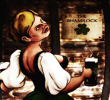 The Shamrock's Wench by Anthony  Poynton