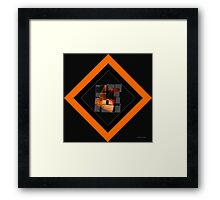 Fire Within.... Framed Print