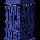 My type of TARDIS by renduh