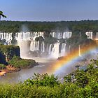 Iguassu Falls - First View by Peter Hammer