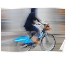 Boris Bikes ( Blurred Series) Poster
