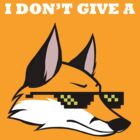 I DON'T GIVE A FOX V2 by Krista Schmidt