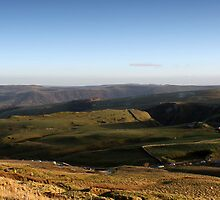 Castleton from Mam Tor by Mark Smitham