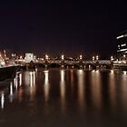 Newport by night. by Ciaran Sidwell