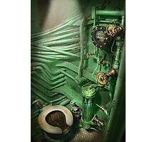 Steampunk - Naval - Plumbing - The head Photographic Print