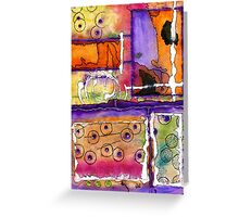 Cheery Thoughts - Warm Wishes Greeting Card