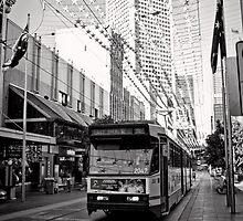 Take the 96 Tram toward East Brunswick by Norman Repacholi