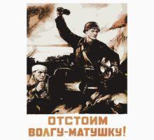 World War II Propaganda Poster – Soviet  by docdoran