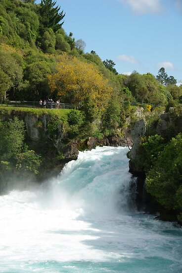 Huka Falls New Zealand by Alison Murphy