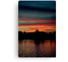 South Florida Sunset Canvas Print