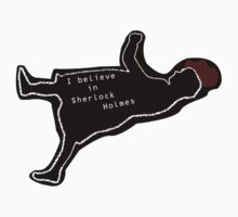 I Believe in Sherlock Holmes - STICKER by Area51